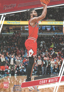 2019-20 Panini Chronicles Basketball Cards #1-100: #66 Coby White RC - Chicago Bulls