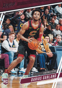 2019-20 Panini Chronicles Basketball Cards #1-100: #67 Darius Garland RC - Cleveland Cavaliers