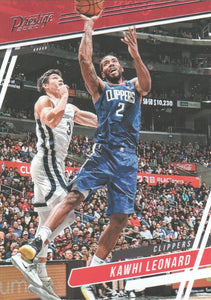 2019-20 Panini Chronicles Basketball Cards #1-100: #71 Kawhi Leonard  - Los Angeles Clippers