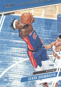 2019-20 Panini Chronicles Basketball Cards #1-100: #72 Sekou Doumbouya RC - Detroit Pistons