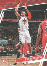 Load image into Gallery viewer, 2019-20 Panini Chronicles Basketball Cards #1-100: #74 Rui Hachimura RC - Washington Wizards