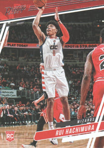 2019-20 Panini Chronicles Basketball Cards #1-100: #74 Rui Hachimura RC - Washington Wizards
