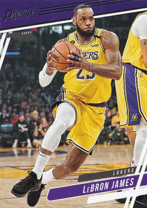 2019-20 Panini Chronicles Basketball Cards #1-100: #75 LeBron James  - Los Angeles Lakers