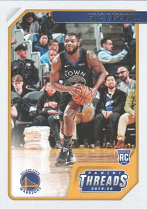 2019-20 Panini Chronicles Basketball Cards #1-100: #77 Eric Paschall RC - Golden State Warriors