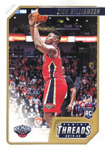 Load image into Gallery viewer, 2019-20 Panini Chronicles Basketball Cards #1-100: #78 Zion Williamson RC - New Orleans Pelicans