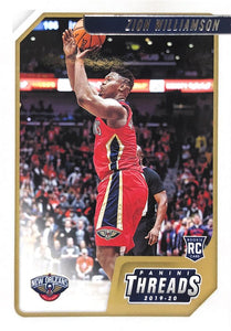 2019-20 Panini Chronicles Basketball Cards #1-100: #78 Zion Williamson RC - New Orleans Pelicans