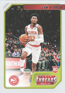 2019-20 Panini Chronicles Basketball Cards #1-100: #80 Cam Reddish RC - Atlanta Hawks