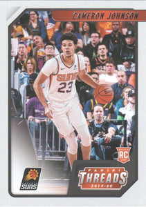 2019-20 Panini Chronicles Basketball Cards #1-100: #81 Cameron Johnson RC - Phoenix Suns