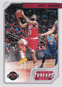 2019-20 Panini Chronicles Basketball Cards #1-100: #83 James Harden  - Houston Rockets