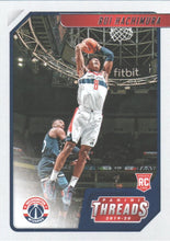 Load image into Gallery viewer, 2019-20 Panini Chronicles Basketball Cards #1-100: #87 Rui Hachimura RC - Washington Wizards