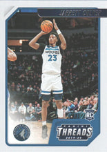 Load image into Gallery viewer, 2019-20 Panini Chronicles Basketball Cards #1-100: #88 Jarrett Culver RC - Minnesota Timberwolves