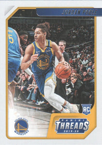 2019-20 Panini Chronicles Basketball Cards #1-100: #89 Jordan Poole RC - Golden State Warriors