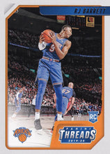 Load image into Gallery viewer, 2019-20 Panini Chronicles Basketball Cards #1-100: #90 RJ Barrett RC - New York Knicks
