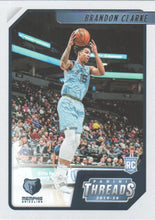 Load image into Gallery viewer, 2019-20 Panini Chronicles Basketball Cards #1-100: #97 Brandon Clarke RC - Memphis Grizzlies