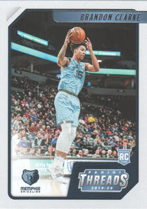 2019-20 Panini Chronicles Basketball Cards #1-100: #97 Brandon Clarke RC - Memphis Grizzlies