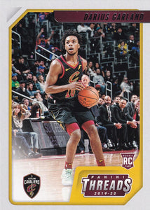 2019-20 Panini Chronicles Basketball Cards #1-100: #98 Darius Garland RC - Cleveland Cavaliers