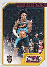 Load image into Gallery viewer, 2019-20 Panini Chronicles Basketball Cards #1-100: #99 Kevin Porter Jr. RC - Cleveland Cavaliers