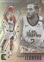 Load image into Gallery viewer, 2019-20 Panini Chronicles Basketball Cards #201-300: #209 Kawhi Leonard  - Los Angeles Clippers