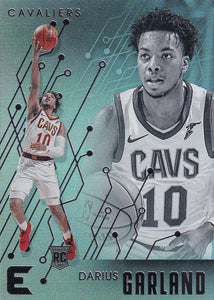 2019-20 Panini Chronicles Basketball Cards #201-300: #211 Darius Garland RC - Cleveland Cavaliers