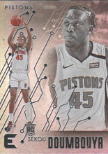 Load image into Gallery viewer, 2019-20 Panini Chronicles Basketball Cards #201-300: #214 Sekou Doumbouya RC - Detroit Pistons