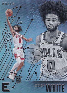 2019-20 Panini Chronicles Basketball Cards #201-300: #216 Coby White RC - Chicago Bulls