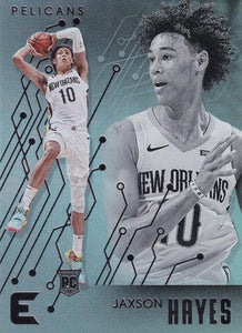 2019-20 Panini Chronicles Basketball Cards #201-300: #218 Jaxson Hayes RC - New Orleans Pelicans