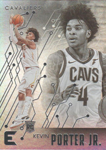 2019-20 Panini Chronicles Basketball Cards #201-300: #220 Kevin Porter Jr. RC - Cleveland Cavaliers