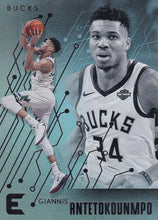Load image into Gallery viewer, 2019-20 Panini Chronicles Basketball Cards #201-300: #221 Giannis Antetokounmpo  - Milwaukee Bucks