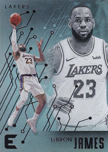 2019-20 Panini Chronicles Basketball Cards #201-300: #223 LeBron James  - Los Angeles Lakers