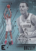 Load image into Gallery viewer, 2019-20 Panini Chronicles Basketball Cards #201-300: #228 Darius Bazley RC - Oklahoma City Thunder