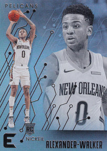 2019-20 Panini Chronicles Basketball Cards #201-300: #231 Nickeil Alexander-Walker RC - New Orleans Pelicans