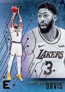 2019-20 Panini Chronicles Basketball Cards #201-300: #232 Anthony Davis  - Los Angeles Lakers