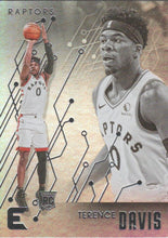Load image into Gallery viewer, 2019-20 Panini Chronicles Basketball Cards #201-300: #233 Terence Davis RC - Toronto Raptors