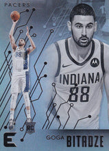 Load image into Gallery viewer, 2019-20 Panini Chronicles Basketball Cards #201-300: #235 Goga Bitadze RC - Indiana Pacers