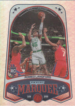 Load image into Gallery viewer, 2019-20 Panini Chronicles Basketball Cards #201-300: #240 Romeo Langford RC - Boston Celtics