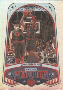2019-20 Panini Chronicles Basketball Cards #201-300: #241 Darius Garland RC - Cleveland Cavaliers