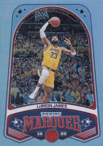 2019-20 Panini Chronicles Basketball Cards #201-300: #245 LeBron James  - Los Angeles Lakers