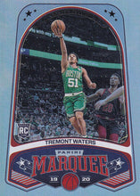 Load image into Gallery viewer, 2019-20 Panini Chronicles Basketball Cards #201-300: #246 Tremont Waters RC - Boston Celtics