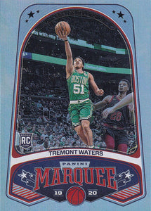 2019-20 Panini Chronicles Basketball Cards #201-300: #246 Tremont Waters RC - Boston Celtics