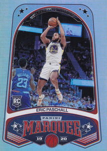 2019-20 Panini Chronicles Basketball Cards #201-300: #251 Eric Paschall RC - Golden State Warriors
