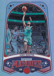 2019-20 Panini Chronicles Basketball Cards #201-300: #255 Cody Martin RC - Charlotte Hornets