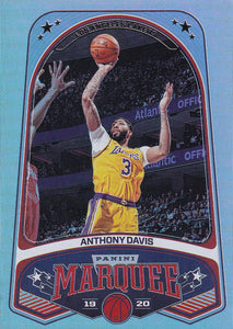 2019-20 Panini Chronicles Basketball Cards #201-300: #260 Anthony Davis  - Los Angeles Lakers