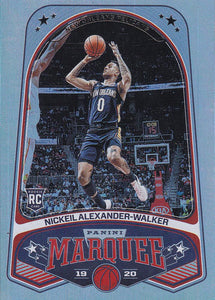 2019-20 Panini Chronicles Basketball Cards #201-300: #262 Nickeil Alexander-Walker RC - New Orleans Pelicans