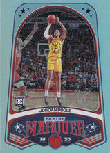 Load image into Gallery viewer, 2019-20 Panini Chronicles Basketball Cards #201-300: #264 Jordan Poole RC - Golden State Warriors