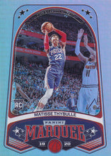 Load image into Gallery viewer, 2019-20 Panini Chronicles Basketball Cards #201-300: #270 Matisse Thybulle RC - Philadelphia 76ers