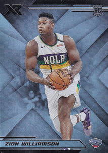 2019-20 Panini Chronicles Basketball Cards #201-300: #271 Zion Williamson RC - New Orleans Pelicans