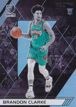 Load image into Gallery viewer, 2019-20 Panini Chronicles Basketball Cards #201-300: #289 Brandon Clarke RC - Memphis Grizzlies