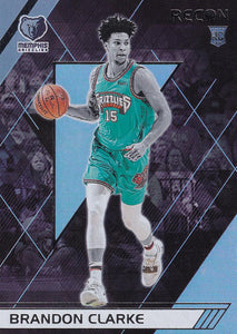 2019-20 Panini Chronicles Basketball Cards #201-300: #289 Brandon Clarke RC - Memphis Grizzlies
