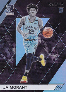 2019-20 Panini Chronicles Basketball Cards #201-300: #298 Ja Morant RC - Memphis Grizzlies