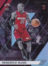 Load image into Gallery viewer, 2019-20 Panini Chronicles Basketball Cards #201-300: #300 Kendrick Nunn RC - Miami Heat